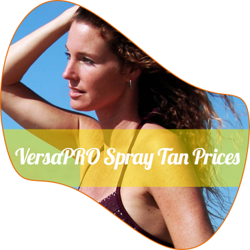 VersaPRO Spray Tan Pricing